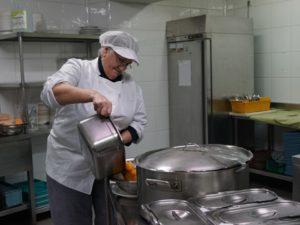 Servicio propio de cocina