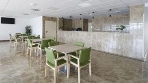 geriasa, cafeteria