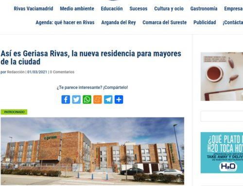Los medios presentan al nuevo Geriasa Rivas