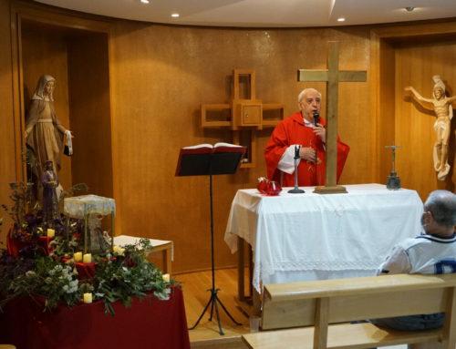 Celebramos el Viernes Santo en Geriasa Brunete